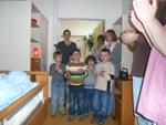 Kindergarten Fuldaaue verzaubert Hospizgäste