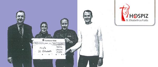 1.500 Euro Spende für Fuldaer Hospiz