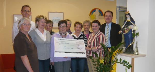 KFD-Ortsgruppen unterstützen Hospiz St. Elisabeth