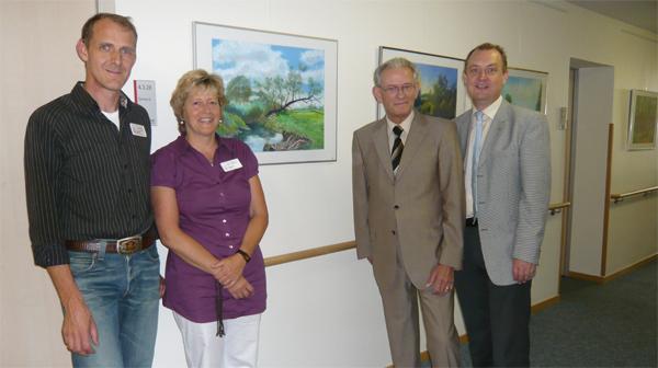Bilderausstellung im Hospiz St. Elisabeth