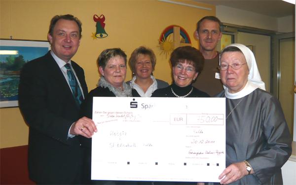Gesangsduo Wehner fördert das Hospiz St. Elisabeth