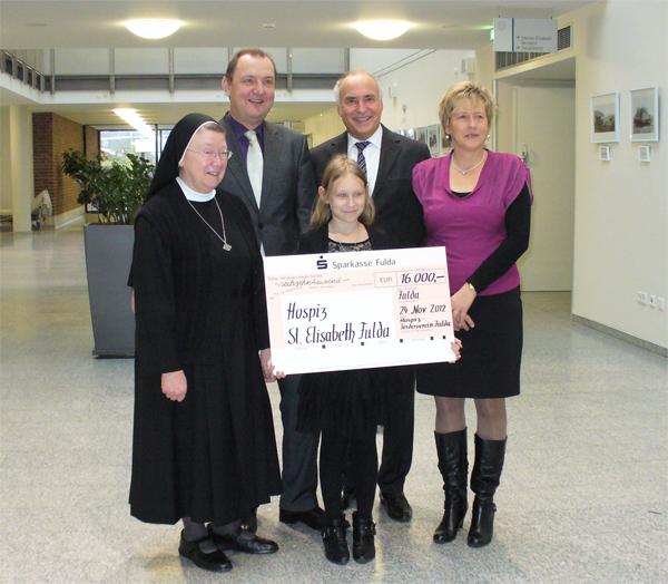 17.700 Euro für das Hospiz St. Elisabeth