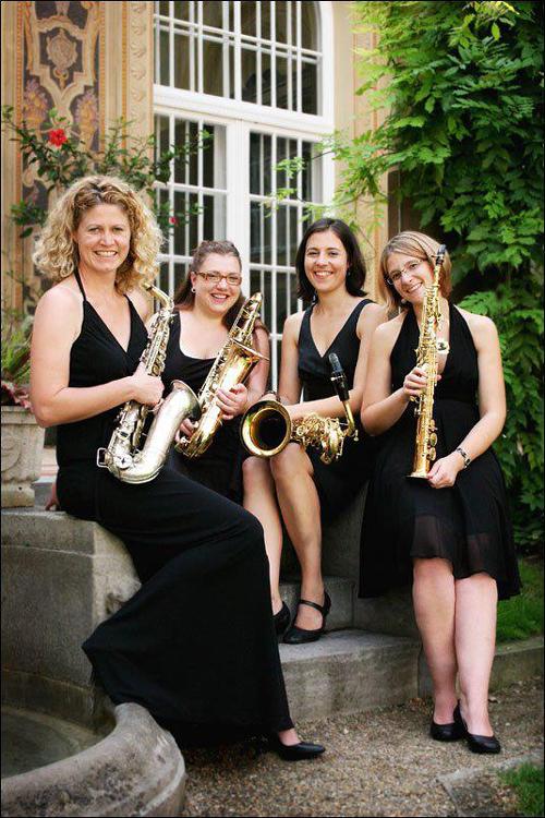 Benefiz und Saxophon
