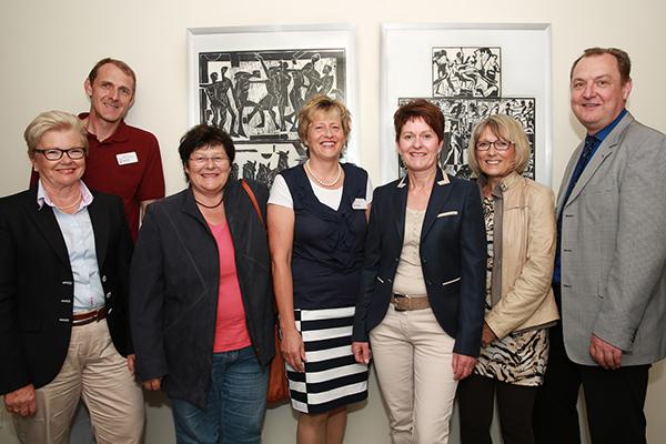 Eröffnung Bilderausstellung von Anette Kramer am 26.06.2014