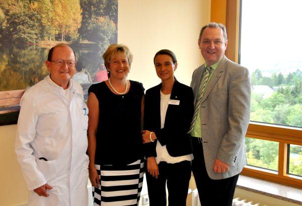 Kooperationsvereinbarung zwischen HELIOS St. Elisabeth Klinik Hünfeld und  Hospiz St. Elisabeth zu Fulda