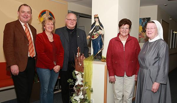 Erlös Zwetschgenfest für Hospiz St. Elisabeth