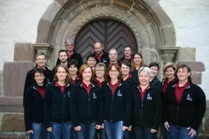 Der Chor Imanuel aus der Gemeinde Johannesberg