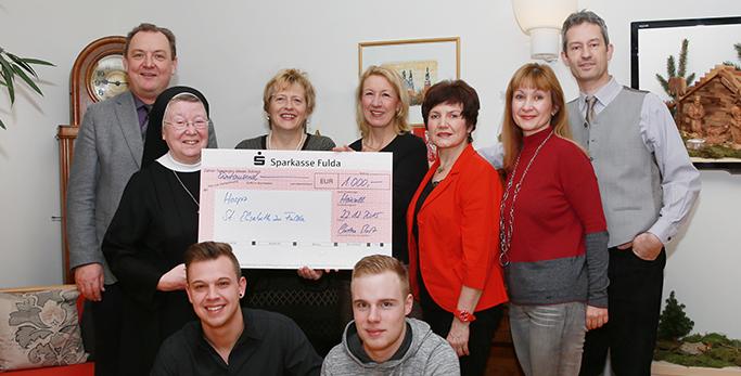 Musikschule Ebert spendet an das Hospiz St. Elisabeth
