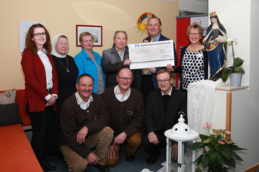 Spende für Hospiz St. Elisabeth