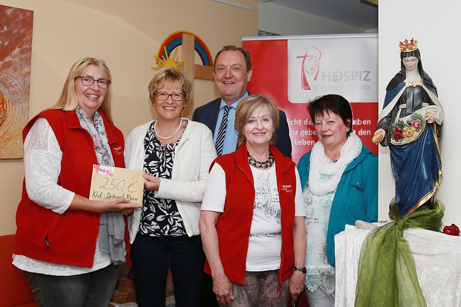 KFD Dekanat Rhön spendet an Hospiz