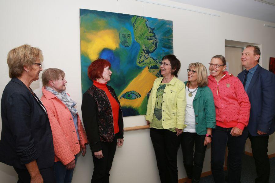Kunstausstellung im Hospiz St. Elisabeth