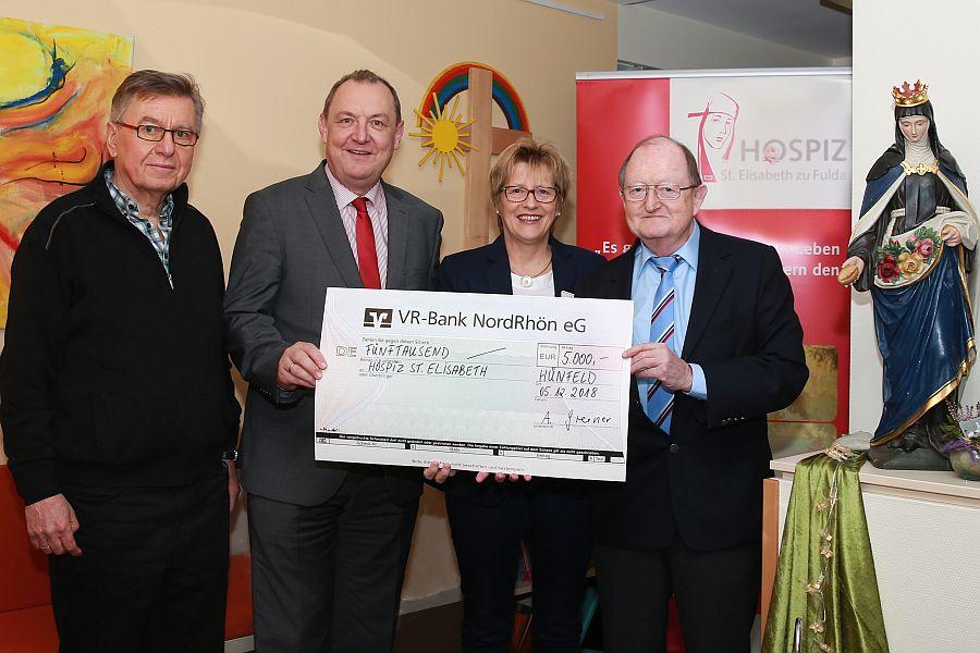 Palliativförderverein Hünfeld unterstützt Arbeit des Hospiz Fulda