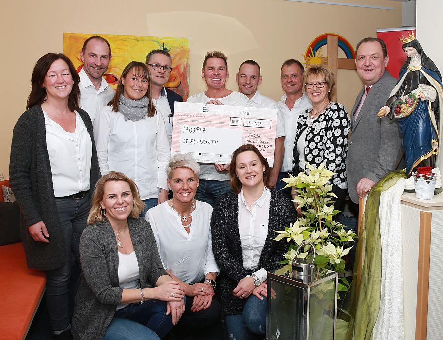 Picknick-Club Flieden spendet 1.500 Euro an Hospiz St. Elisabeth